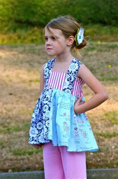Little Lady's First Mate swing top 6m8 nautical by averymacroo, $45.00