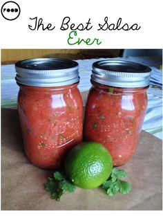 Last week I was looking for a new salsa recipe to try for a little party I was having. I found this recipe by Ree Drummond, a.k.a The Pioneer Woman– IT IS THE BOMB. It's so simple to ma…