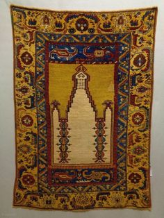 Century probably Armenian Sivas Prayer Rug Size: Natural colors, there is an old repair, the edges and the headends are not original Art Watch, Prayer Rug, Tribal Rug, Asian Art, Rugs On Carpet, Rug Size, Fiber Art, Folk Art, Bohemian Rug