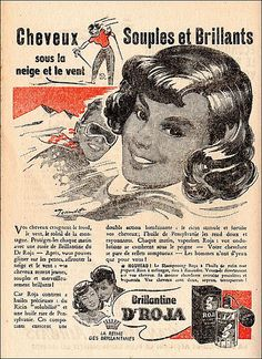 A 1950s' ad for Dr. Roja hair cosmetics.