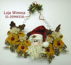 Projeto Rostinhos de Noel e Renas