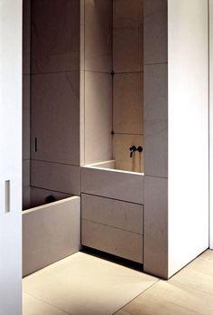 Bathroom - Vincent Van Duysen - MR Residence in Belgium, 2009