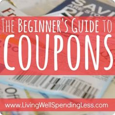 How to Save on Food   How to Cut Your Grocery Bill in Half   Coupon Tips