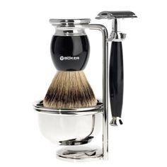 Safety razor & brush set