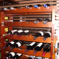 Various Free Woodworking Projects That Call for a Band Saw: Modular Wine Rack Plans