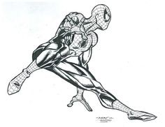 Spidey Leaping by FanBoy67 on DeviantArt