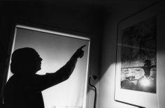 Jean GaumyLisbon. October 1990. Jose SARAMAGO, writer.