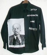 SEDITIONARIES styleONLY ANARCHISTS r PRETTY SHIRT WITH LENNIN 1970S  SEX PISTOLS
