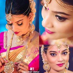"162 likerklikk, 1 kommentarer – Kay's (@kaysmua) på Instagram: ""Denuka 06/02/2017 Hindu wedding #traditionalhinduwedding #hinduweddings #southindian #saree…"""
