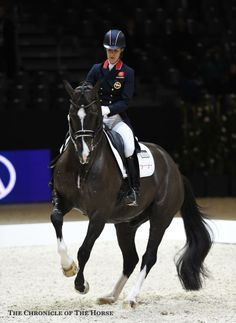 Flawless All eyes were on Charlotte Dujardin and Valegro as they debuted a new freestyle to win the Reem Acra FEI World Cup Final.