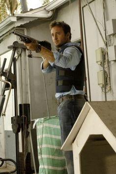 Alex O'Loughlin can teach me gun safety anytime.