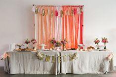 ombre ace wedding dessert bar