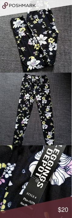 590de75248f9 Leggings Depot Floral Leggings NWT Super soft floral leggings. The tag says