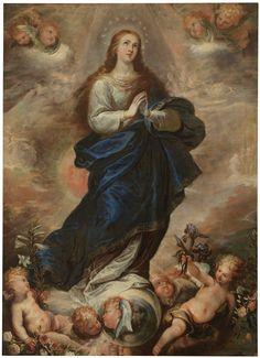 The Immaculate Conception / La Purísima Concepción // 1651 // Francisco Rizi // Museo del Prado