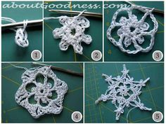 You can make an EXCELLENT GIFT and IMPRESSIVE DECORATION with these crocheted 3 dimensional snowflake ornaments, embellished with pearls and crystals. The receiver usually is very impressed by the …