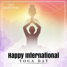 Revive, restore, and rejuvenate with the magic of Yoga. Nataraj Sarovar Portico Jhansi wishes everyone a healthy and happy International Yoga Day. Happy International Yoga Day, Nataraja, Restore, Restoration, Magic, Healthy, Movie Posters, Film Poster, Health