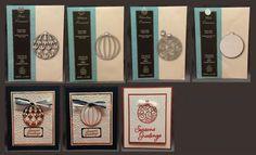 Memory Box Ornaments Andover Chambray Globe or Portia  #MemoryBoxDies