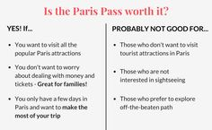 is the paris pass worth it?