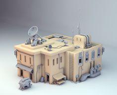 industrial environment game art