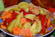 Pickling Cucumbers, Romanian Food, Fruit Salad, Pickles, Homemade, Recipes, Winter, Preserves, Salads
