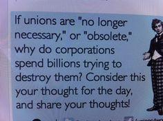 Labor unions e-card