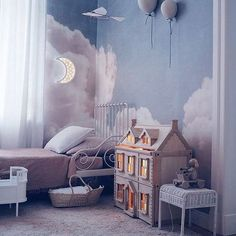 Kids Art Studio Design Playrooms 47 New Ideas Childrens Room Decor, Baby Room Decor, Bedroom Decor, Fairytale Room, Kids Room Design, Little Girl Rooms, Girls Bedroom, Decoration, Interior Design