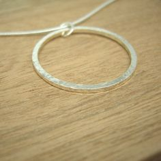 Sterling SIlver Circle Pendant £19.50