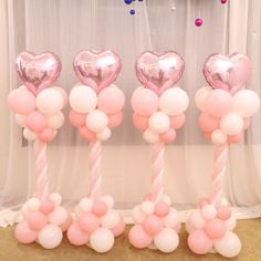 Balloon Arch Column Base Stand Wedding Party Supplies Plastic Upright Stick Pole