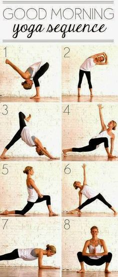 morning yoga poses :)