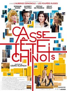 Cédric Klapisch's Casse-tête chinois (Chinese Puzzle), starring Romain Duris + Audrey Tautou