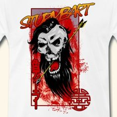 Sturmbart - Männer Premium T-Shirt
