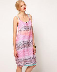 Lauren McCalmont creates graffiti inspired dresses for ASOS
