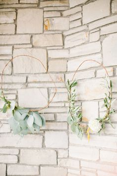 eucalyptus wreaths, photo by Beaux Arts Photographie http://ruffledblog.com/rancho-palos-verdes-wedding #weddingideas #floralcrown