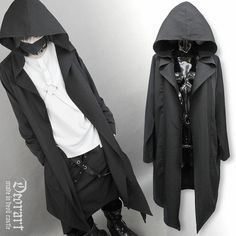 Deorart,Grim Reaper's Robe-like Gown Cardigan w/ Big Hood,APPAREL  listed at CDJapan! Get it delivered safely by SAL, EMS, FedEx and save with CDJapan Rewards!