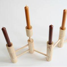 Candleholder - 10 Elements by Fabian von Ferrari | MONOQI #bestofdesign