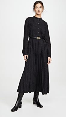 Whit Maude Dress | SHOPBOP World Of Fashion, Fashion Online, Parsons School Of Design, Saturated Color, Dot Dress, Mock Neck, New Look, Bodice, Cold Shoulder Dress
