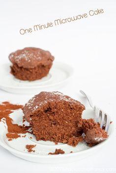 Paciocchi di Francy: One minute cake al microonde