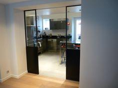 Portes atelier à galandage - Duplex Paris XVI