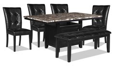 Dining Room Furniture - Vale 6-Piece Dining Package