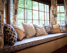 Custom Window Seat Cushion Design, Pictures, Remodel, Decor and Ideas