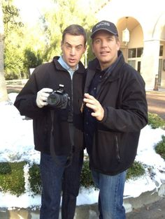 Sean Murray and Michael Weatherly