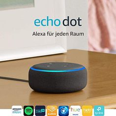 Smart speaker with Alexa Echo Dot is our most popular voice-controlled speaker, now with improved sound and a new design. Ask Alexa to play music, answer Alexa App, Alexa Echo, Echo Echo, Amazon Echo, Amazon Fr, Amazon Deals, Smartwatch, Amazon Alexa Devices, Colors