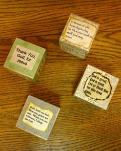 "prayer cubes - kids roll the cubes to help ""build"" their prayers"