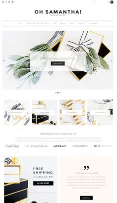 Samantha is a beautiful and feminine WooCommerce WordPress theme for ecommerce shop websites. The premium ecommerce theme from BluChic has been specifically crafted for female entrepreneurs and bus…