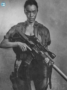 Sonequa Martin Green as Sasha #TWD #TheWalkingDead