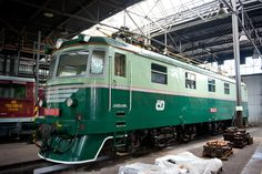 CSD 180001 (formerly a prototype for classes 181 and 182 is preserved at the Ceska Trebova Depot of Czech Railways (CD). It was built by Skoda in works number 17 May Preserves, Trains, Number, Building, Preserve, Buildings, Preserving Food, Butter, Pickling