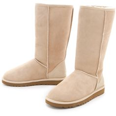UGG Australia Classic Tall Boots ❤ liked on Polyvore