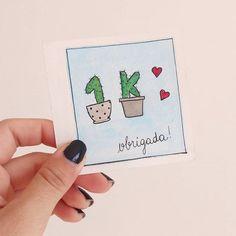 Essa semana chegamos a 1000 seguidores por aqui  Obrigada por acreditarem e acompanharem meu desenvolvimento e empenho   Estou preparando uma surpresa pra vocês pra comemorar  ⚫ ⚫ ⚫ #watercolour #watercolor #aquarelle #aquarela #ilustración #ilustração #illustration #draw #sketch #paint #desenho #dibujo #desenhando #cactus #cactuslover #cactos #suculentas #nature #love #amor #aquarelinhas #lettering #caligrafia #caligraphy #tipography #tipografia #handmade