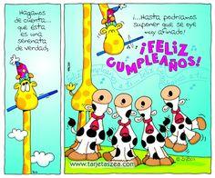 Hagamos de cuenta... que ésta es una serenata de verdad - ツ Imagenes y Tarjetas para Felicitar en Cumpleaños ツ Happy Birthday Ecard, Happy Birthday Wishes Cards, Happy Birthday Images, Birthday Greeting Cards, Friend Birthday, Birthday Quotes, Birthday Greetings, Hippie Birthday, Happy Everything