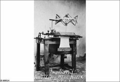 MILLICENT: An early make knitting machine used by Leon Hutchesson of Avenue Station to make socks and other articles for his family and friends